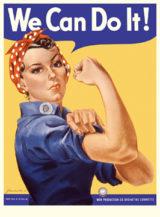 Плакат We Can Do It!