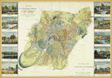 Плакат План г. Москвы 1827г