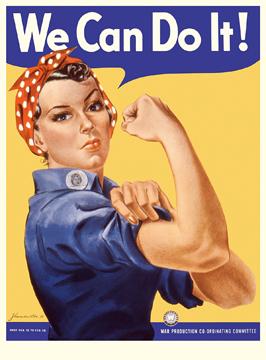 Открытка We Can Do It!