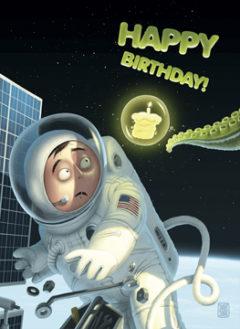 Открытка Happy Birthday!